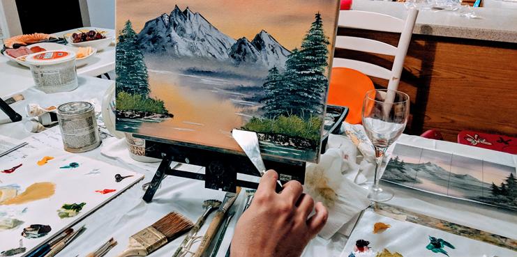 Bob Ross Painting Instruction