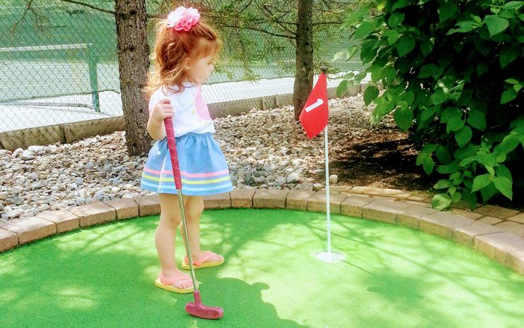 Miniature Golf at Waltz Golf Farm Limerick / Royersford PA