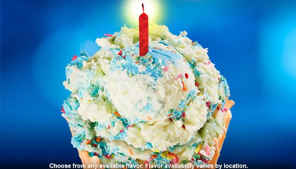 Bruster's Birthday Reward Treat