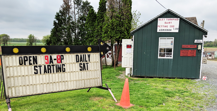 Oley Dairy Petting Zoo Prices and Hours