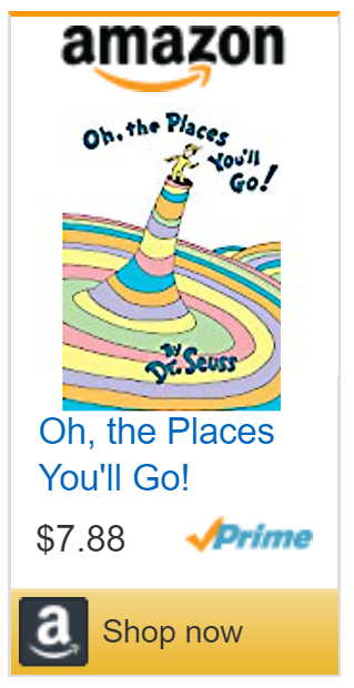 Oh the Places You'll Go By Dr. Seuss Book Deals Sale